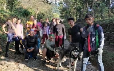 Montañistas burlan a autoridades: ascienden al volcán Tacaná - El Heraldo  de Chiapas